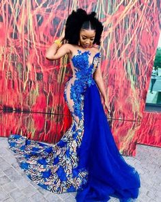 This is made with high quality fabric and lace trimmings African Prom Dresses, Prom Girl Dresses, Latest African Fashion Dresses, African Dresses For Women, African Women, African Dress Styles, Party Dresses, Ankara Dress Styles, Mermaid Dresses