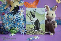 7 of Wands - The Rabbit Tarot