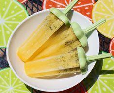 Mojito Lime Orange & Mint Popsicles