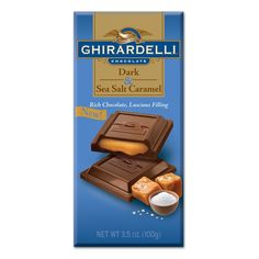 Ghirardelli Dark & Sea Salt Caramel Bar
