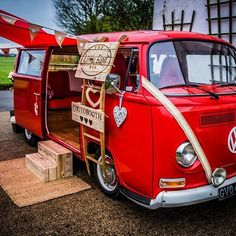 #lovewhatwedo❤️ #photobooth #photobus #newbusiness #Camper #VW #vintage #type2vw #type2vwbus #weddingfun #hire #weddingvehicle #photography by @freeformimages.co.uk