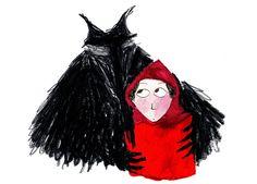 Marjolaine Leray - chapeuzinho vermelho e o lobo