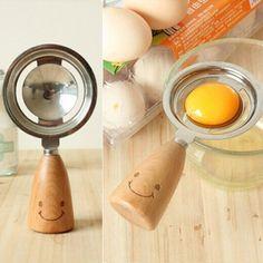 Stainless Steel Egg Separator Tool Egg Yolk White Separator Spoon Egg Divider Metal Egg Separator Kitchen Tools #Affiliate