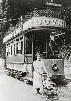 Tram no 27 for Combe Down 1937