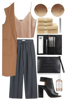 """It's Been A While"" by lilyyy24 ❤ liked on Polyvore featuring Toast, Alexander Wang, Herbivore, Maison Margiela, Lulu Guinness, Sephora Collection, Victoria Beckham, Typhoon and Christy"