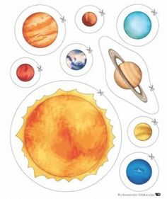 cutting activities for space theme Solar System Activities, Solar System Projects, Space Activities, Science Activities, Science Projects, Planets Activities, Space Preschool, Preschool Education, Space Projects