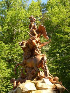 Fuentes de la Granja de San Idelfonso, #Segovia.  http://destinocastillayleon.es/index/las-fuentes-de-la-granja-de-san-ildefonso-segovia/