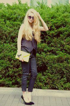 c o m p a g n i o n 2: OOTD - neon heels
