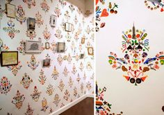 stickers wall patterns -decals elle decor - Google Search
