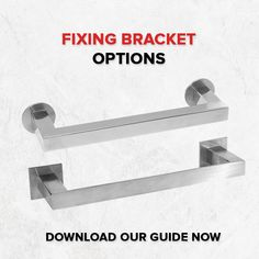 Not sure which fixing brackets are compatible with your favourite products? Don't fret, we've created this handy guide. Amazing Gardens, Beautiful Gardens, Outdoor Venues, Diy Garden Decor, Brushed Stainless Steel, Photoshop, Bathroom, Products, Washroom