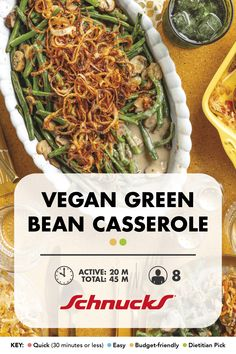 A classic and crowd favorite holiday side dish that is vegan approved with fresh green beans, a creamy mushroom sauce, and homemade crispy onions. Creamy Mushroom Sauce, Creamy Mushrooms, Stuffed Mushrooms, Vegan Green Bean Casserole, Crispy Onions, Holiday Side Dishes, Fresh Green, Oven Baked, Favorite Holiday