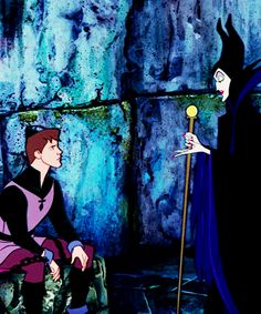 Oh come now Prince Phillip. Why so melancholy? A wondrous future lies before you - you, the destined hero of a charming fairy tale come true.