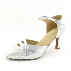 Dance Shoes - $28.99 - Women's Leatherette Sparkling Glitter Heels Pumps Modern With Ankle Strap Dance Shoes (053013040) http://jjshouse.com/Women-S-Leatherette-Sparkling-Glitter-Heels-Pumps-Modern-With-Ankle-Strap-Dance-Shoes-053013040-g13040