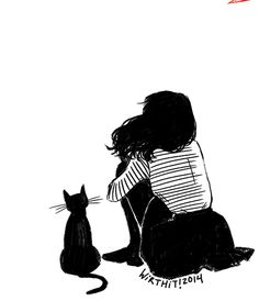 gif cat drawing Illustration art My art cats artwork animation animated gif art… Art And Illustration, Illustrations, Crazy Cat Lady, Crazy Cats, Catgirl, Animation, Cat Drawing, Drawing Girls, Cat Love