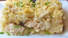Chicken and rice casseroles are a staple of American cooking. This version uses cream of mushroom, cream of celery, and cream of chicken to give a rich flavor to a quick school-night dinner when getting your back-to-school routine settled.