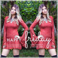 Bom dia e boa sexta, amores!  Nosso vestido de tricô, perfeito para essa deixar sua sexta ainda mais especial!  Frete grátis para todo Brasil.  Nas compras com cartão, parcelamos em até 12x.
