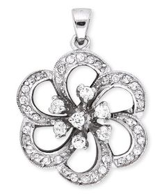 925 Sterling Silver Pendant Blooming Openwork Flower Cubic Zirconia Accent - Incl. ClassicDiamondHouse Free Gift Box & Cleaning Cloth ClassicDiamondHouse. $50.60. These gorgeous items has attractive jewelry box . Refer image. Jewelry that make a statement day or night. Fabulous CZ Diamonds.. This includes jewelry care cloth to wipe and clean each item. Be atrractive! Notice our CZ Diamond jewelry that has high-end quality and design. What you see is what you get!! Gra...