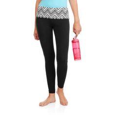 No Boundaries Juniors' Skinny Yoga Pants (Prints and Solids), Women's, Size: Medium