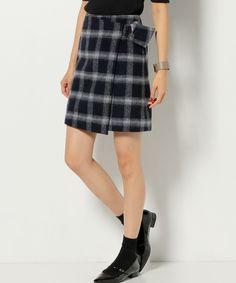 【ZOZOTOWN|送料無料】Jewel Changes(ジュエルチェンジズ)のスカート「★JOC W/N シャギーチェック ラップスカート」(66242631042)を購入できます。