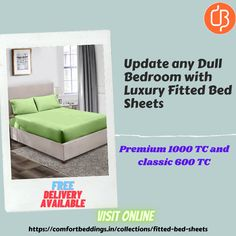 You can easily find the various colors, designs & patterns of fitted sheet at online store Comfort Beddings. These fitted sheets made up 100% pure cotton and available in premium 1000 TC and Classic 600 TC with 2 Pillow covers. King Size Bed Sheets, Double Bed Sheets, Fitted Bed Sheets, Yellow Bedding, Black Bedding, Most Comfortable Sheets, Ruffle Duvet, Bed Sheets Online, Egyptian Cotton Bedding