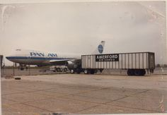 Air cargo, Kennedy airport, New York.