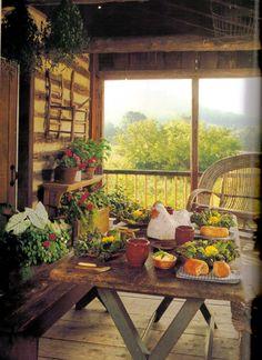 Summer's bounty on my dream farm