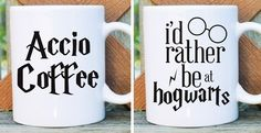 Harry Potter Inspired Coffee Mugs - 9 Designs | Jane