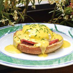 Des œufs Benedict comme aux USA