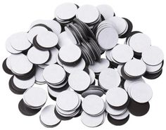 BYKES Magnets 1/2″ Round Disc with Adhesive Backing – 250 Pcs