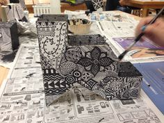 Art 1 sculpture student. Student of Kara Frank