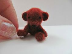 Amigurumi To Go: Tiny Teddy Bear