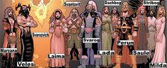 Russian Gods | Classification :Gods (Extra-Dimensionals/Immortals)