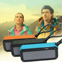 Dual Speakers IPX5 wireless Bluetooth Speaker