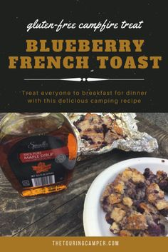 With this Gluten-Free Blueberry French Toast recipe you can savor a beautiful fire while treating everyone to breakfast-for-dinner. Camping Breakfast, Breakfast For Dinner, Gluten Free French Toast, Camping Meals, Camping Recipes, Camping Cabins, Camping Tips, Great Recipes, Favorite Recipes