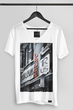 The Drug Store - Mens Deep-V & Crew Neck Graphic T-Shirt Tee – DANYEYI®