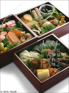 お待たせしました!二人の重箱が仕上がりました!:三段小重・奥田志郎:和食器・重箱:漆器 japan lacquerware