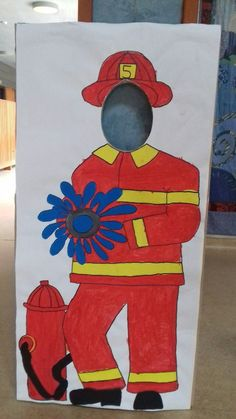 -  - Fireman Party, Firefighter Birthday, Fireman Kids, Pow, Adult Party Games, Coding For Kids, Preschool Crafts, 3rd Birthday, Firefighters