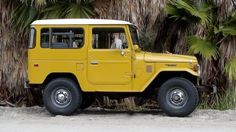 1979 Toyota Land Cruiser: I'm a huge fan of the old-school Toyota Land Cruiser. This company in LA specializes in restoring them.
