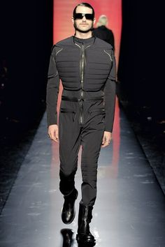 See the complete Jean Paul Gaultier Fall 2011 Menswear collection.