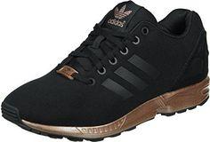 official photos 21627 814c2 Womens Adidas Zx Flux Core Black Copper S78977 Adidas Torsion Zx Flux, Adidas  Zx Flux