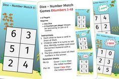 FREE Sea Theme Dice Game (1-6) Early Years (EYFS) Printable Resource — Little Owls Resources - FREE Literacy Games, Phonics Games, Articulation Activities, Speech Therapy Activities, Dice Games, Learning Activities, Family Game Night, Family Games, Nursery Practitioner