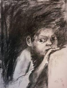 Original People Drawing by Ellen Fasthuber-huemer Saatchi Art, Drawings, Illustration, Artwork, Painting, Journal, Pictures, Work Of Art, Auguste Rodin Artwork