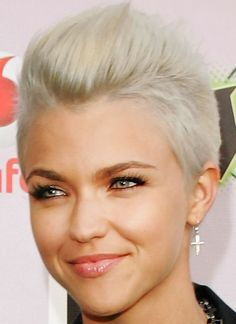 Ruby Rose Short Blonde Pixie Cut    MY NEXT HAIR CUT !