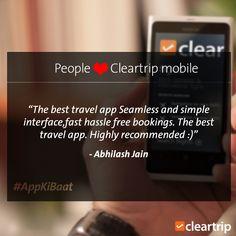 #CTApp #CTSimple #CleartrippersSpeak