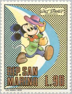 Francobollo: Disney, Walt (San Marino) (Walt Disney) Mi:SM 970,Sn:SM 744,Yt:SM 777,AFA:SM 942,Un:SM 822
