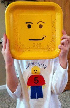 Boys Personalized Lego Birthday Shirt