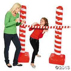 $14.99 Inflatable Candy Cane Limbo Kit