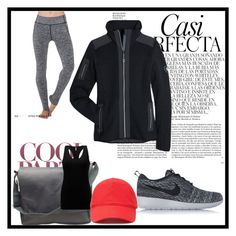 """""""sport#1"""" by tanttu-haapop on Polyvore featuring Electric Yoga, Kuhl, Burberry, BKE, NIKE, Forever 21 and Whiteley"""