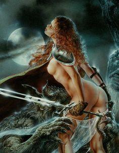 Here you will find things that interest me. Some maybe NSFW! Dark Fantasy Art, Fantasy Girl, Dark Art, Fantasy Artwork, Beautiful Heroine, Luis Royo, Fantasy Island, Art Costume, Sexy Drawings