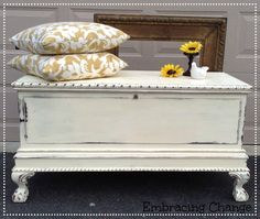Antique Chest in Old White - Embracing Change